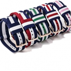 Nylon Nato Strap for Daniel Wellington watches 22mm Many Colors