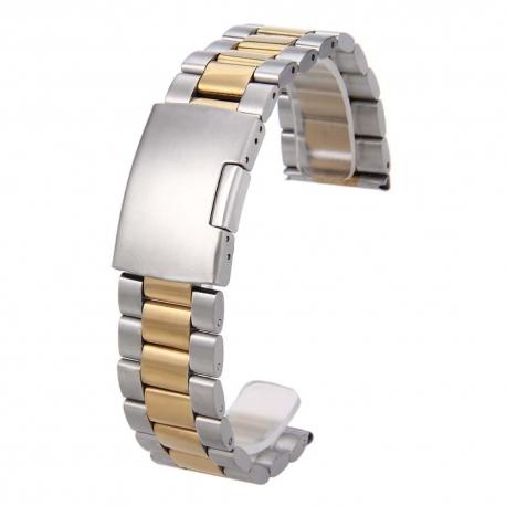 Bracelet Montres Acier Inox ECO Dual 22mm