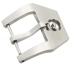 Stainless Steel buckle Skull