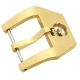 Stainless Steel buckle Skull Gold Plated