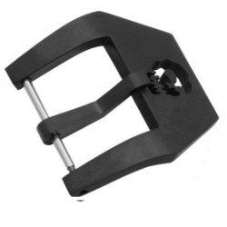 Stainless Steel buckle Skull Black