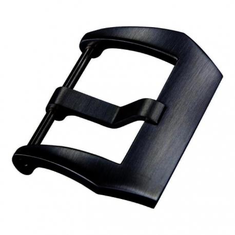 Boucle Acier Inox Panama PVD Noir