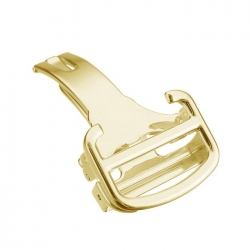 Butterfly Stainless Steel Clasp Flip Flap Gold