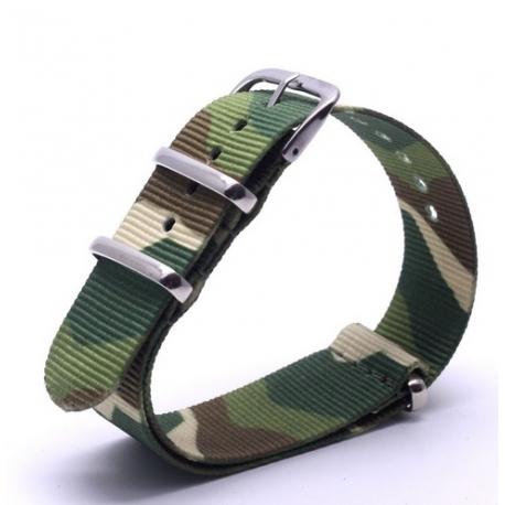 Correa Reloj Nek NATO Camuflaje
