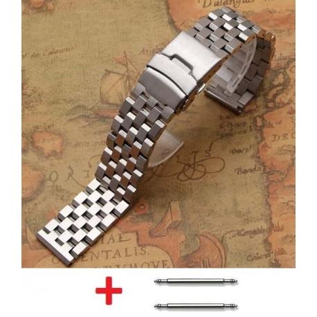 Stainless Steel Bracelet Band Wadoo 22mm