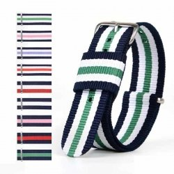Nylon WELLI Nato Strap 20mm Many Colors