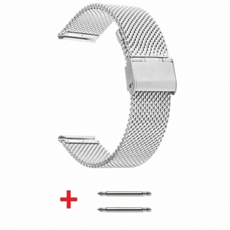 Tiny Mesh 22mm Stainless Steel Bracelet
