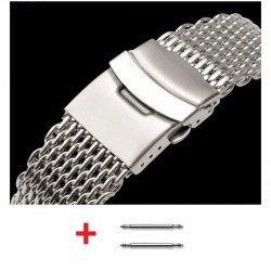 Bracelet Milanaise Maille Shark Mesh 24mm