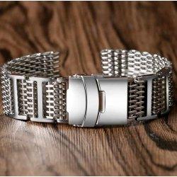 Milanaise Reglable Bracelet Maille Shark Mesh 22mm