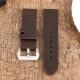 Bracelet montre 100% cuir Véritable MAX Chocolat 22mm 24mm 26mm