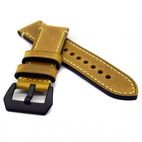 Leather Strap 100% Genuine Vintage Swen B 22mm 24mm 26mm