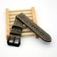 Bracelet montre 100% cuir Véritable Swen B 22mm 24mm 26mm