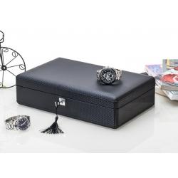 Caja 12 Relojes Fibra Carbono Zweiler Habana