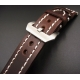 Leather Strap 100% Genuine Craft 18mm 20mm 22mm 24mm Brown