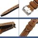 Bracelet montre 100% cuir Véritable Clim 20mm 22mm 24mm 26mm