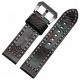 Bracelet montre 100% Autruche Véritable 20mm 22mm 24mm 26mm