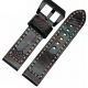 Leather Strap 100% Genuine Ostrich 20mm 22mm 24mm 26mm
