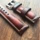 Bracelet montre 100% cuir Véritable Tan 20mm 22mm 24mm 26mm Beige