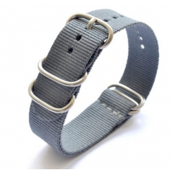 Nylon Nato Strap Bond Grey