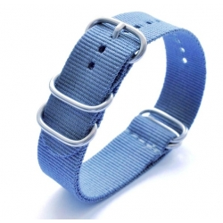 Nylon Nato Strap Bond Blue