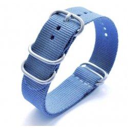 Bracelet montre Nylon Nato Bond Bleu