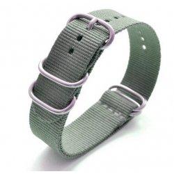 Bracelet montre Nylon Nato Bond Kaki