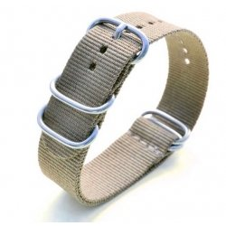 Bracelet montre Nylon Nato Bond Beige