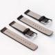 Bracelet montre cuir Véritable 100% Tinor 16mm 18mm 20mm 22mm 24mm Marron