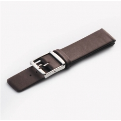 Leather Strap 100% Genuine Tinor 16mm 18mm 20mm 22mm 24mm Brown