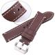 Leather Strap 100% Genuine Ecus 20mm 22mm 24mm Brown