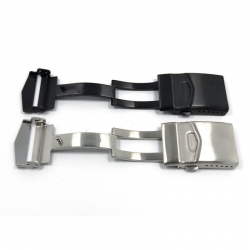 Doble security folding clasp Stainless Steel for diver