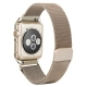 Milanesa Mesh Apple Watch 42mm Caja Protectora Dorada