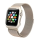 Apple Watch Mesh Stainless Steel Band 38mm with Case and Screen Protector Gold Plated