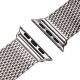 Milanesa Mesh Apple Watch 38mm Acero Inoxidable Gris