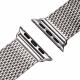 Milanesa Mesh Apple Watch 38mm Acero Inoxidable Gris
