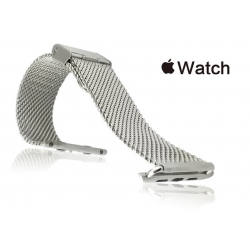 Apple Watch Mesh Stainless Steel Band 38mm Silver