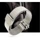 Milanaise Apple Watch Acier Inox 42mm Argent