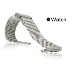 Milanesa Mesh Apple Watch 42mm Acero Inoxidable Gris