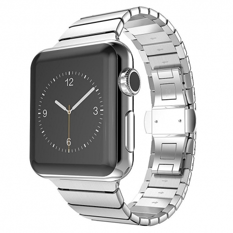 Bracelet Apple Watch Acier Inox 42mm iLuxe