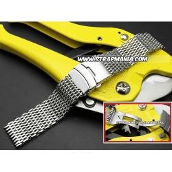 Shark Mesh 22mm Stainless Steel Bracelet Vip