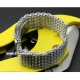 Milanesas Shark Mesh Acero Inoxidable 24mm Vip