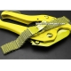 Milanesa Shark Mesh Oro Acero Inoxidable 22mm Vip
