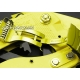 Milanesa Shark Mesh Oro Acero Inoxidable 24mm Vip