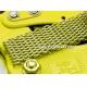 Shark Mesh Vip Gold Plated 24mm Stainless Steel Bracelet