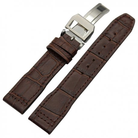 Leather Strap 100% Genuine Avirex 20mm Brown