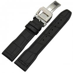 Leather Strap 100% Genuine Avirex 20mm 22mm Black