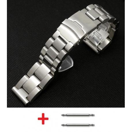 Bracelet Milanaise maille Shark Mesh Acier Inox 26mm