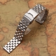 Stainless Steel Bracelet Band Wadoo 22mm