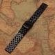 Bracelet Montres Acier Inox Wadoo 18mm Noir