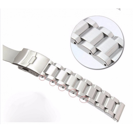 Bracelet Montres Acier Inox Lite 24mm